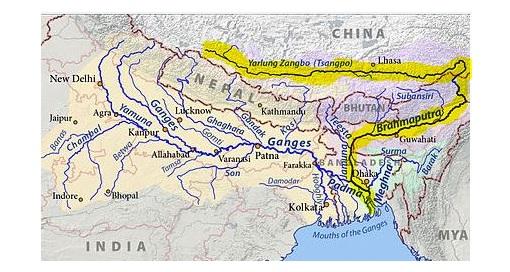 எல்லையில் சீனாவின் நீர்மின் அணை, இந்தியா கவலை