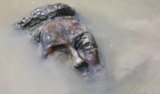கனடாவில் இராணியின் சிலையும் உடைப்பு